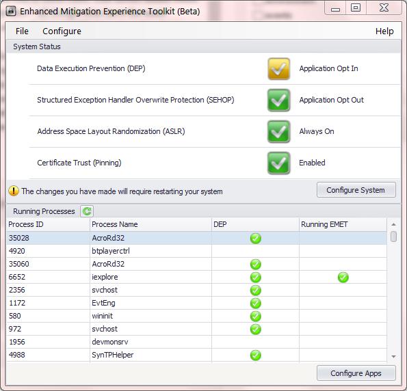 Certificate Pinning In Internet Explorer With Emet Random Oracle
