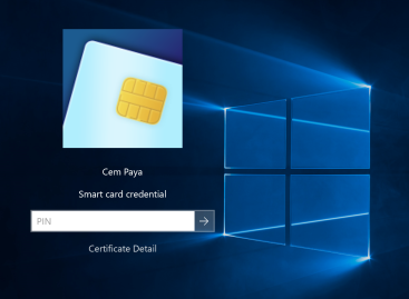 Using smart-card for local logon