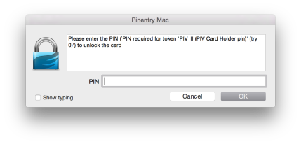 OSX MacPGP PIN collection UI